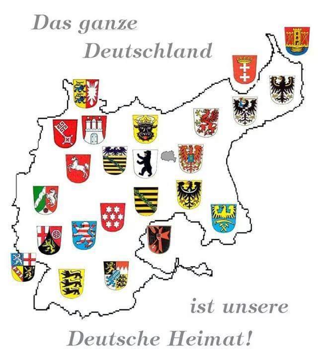 Das ganze Deutschland ist unsere Deutsche Heimat!