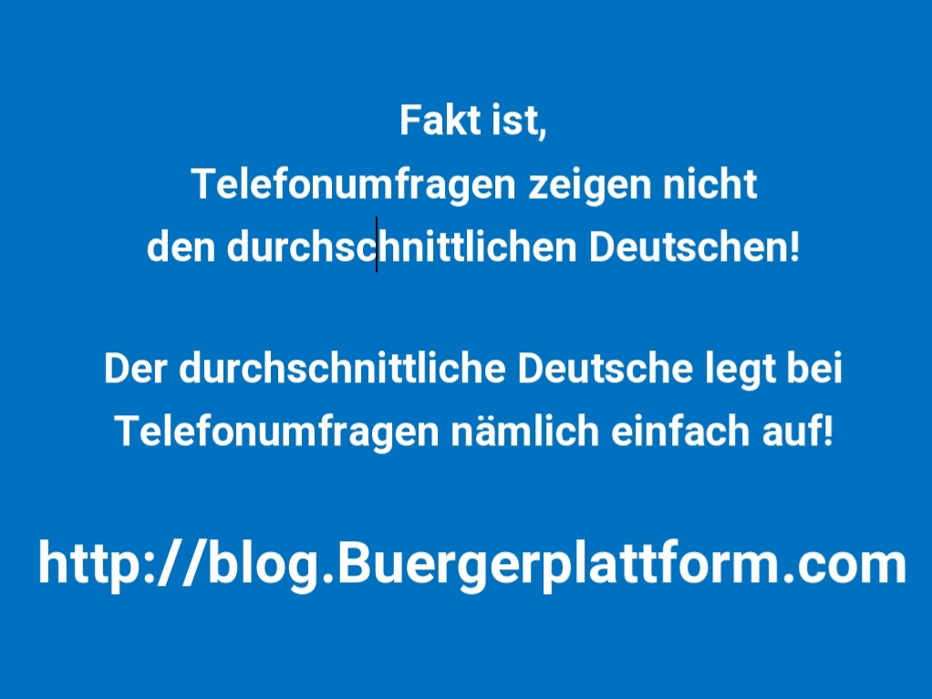 http://blog.Buergerplattform.com