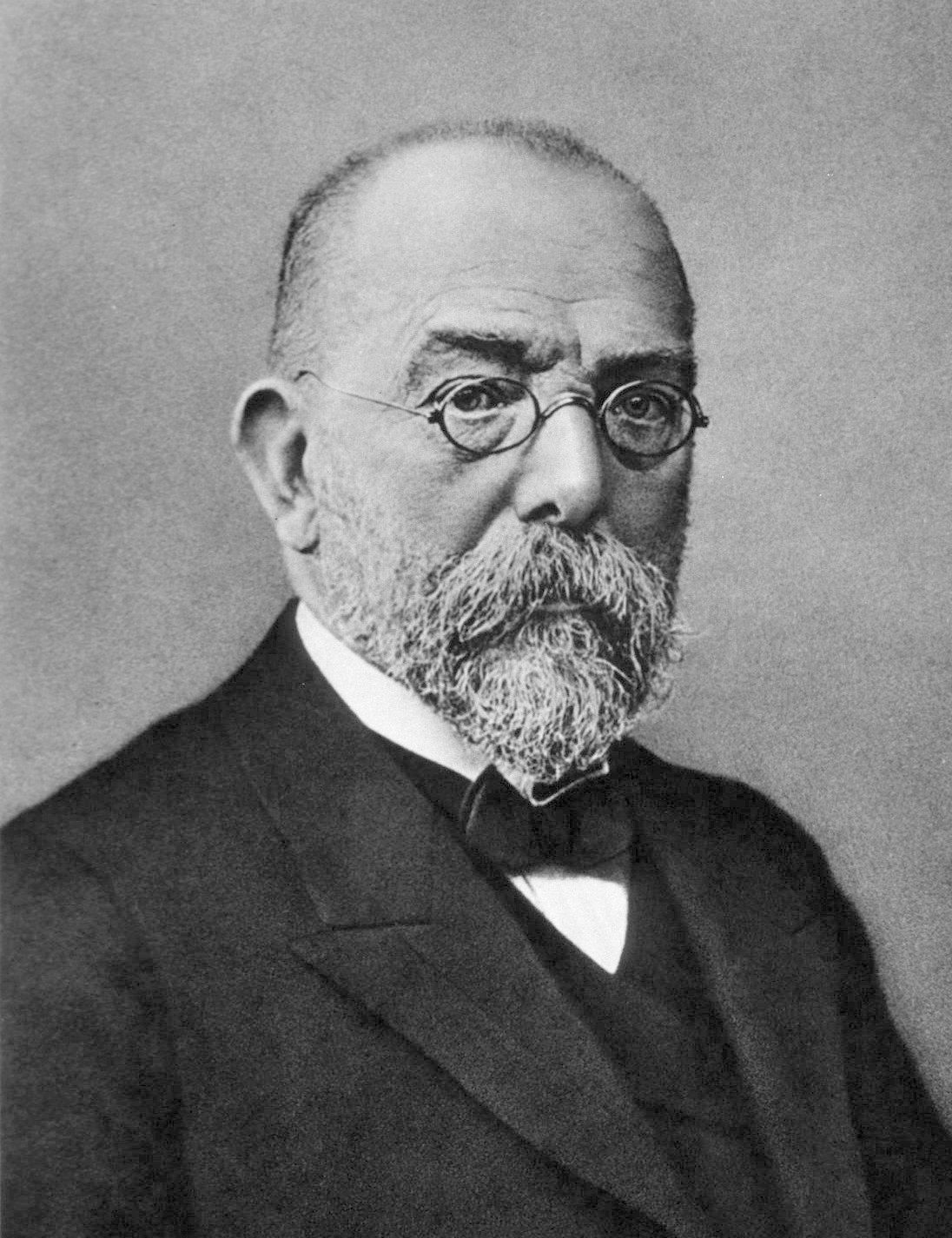 Robert Koch • Autor unbekannt • Public domain
