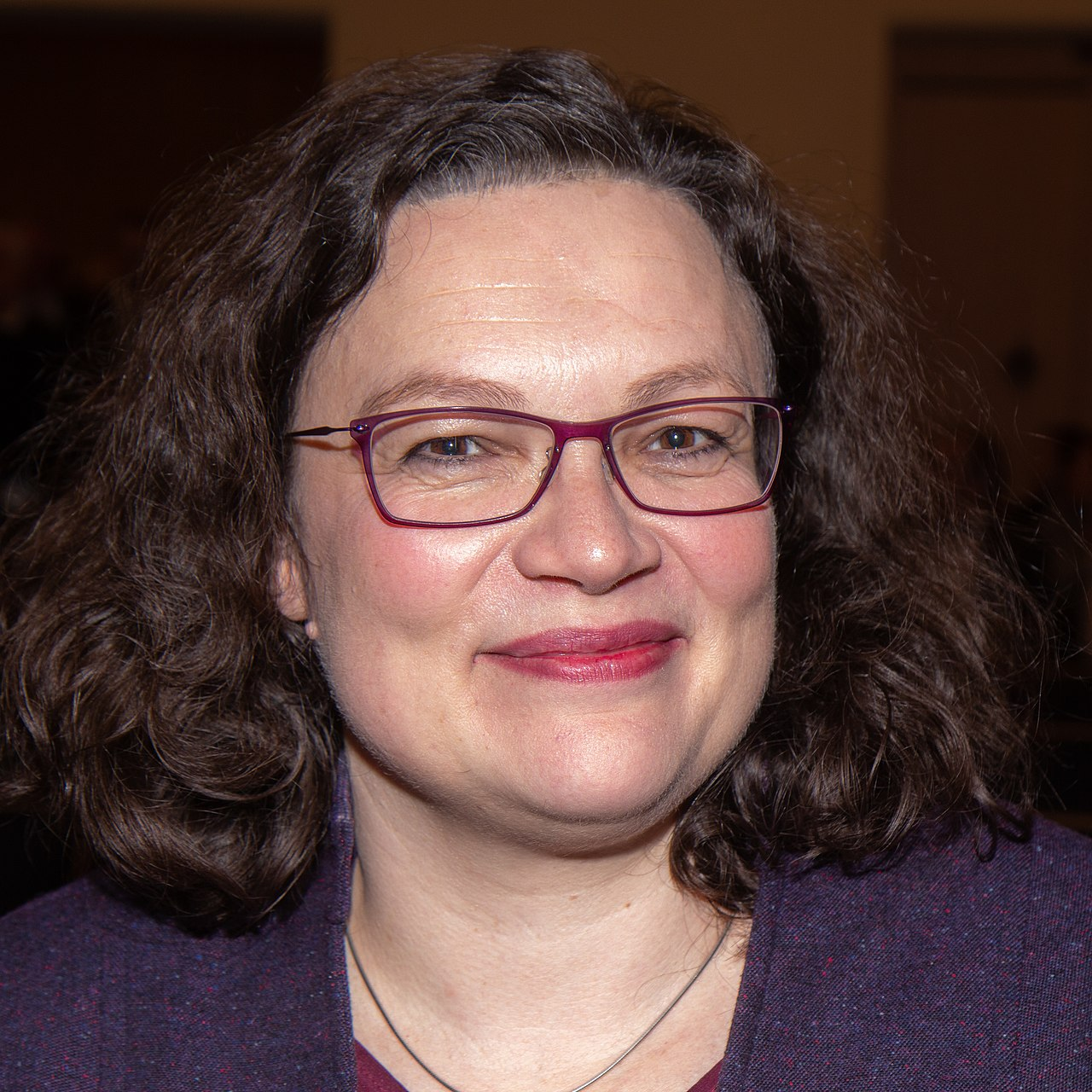 Andrea Nahles (2019)Olaf Kosinsky • CC BY-SA 3.0