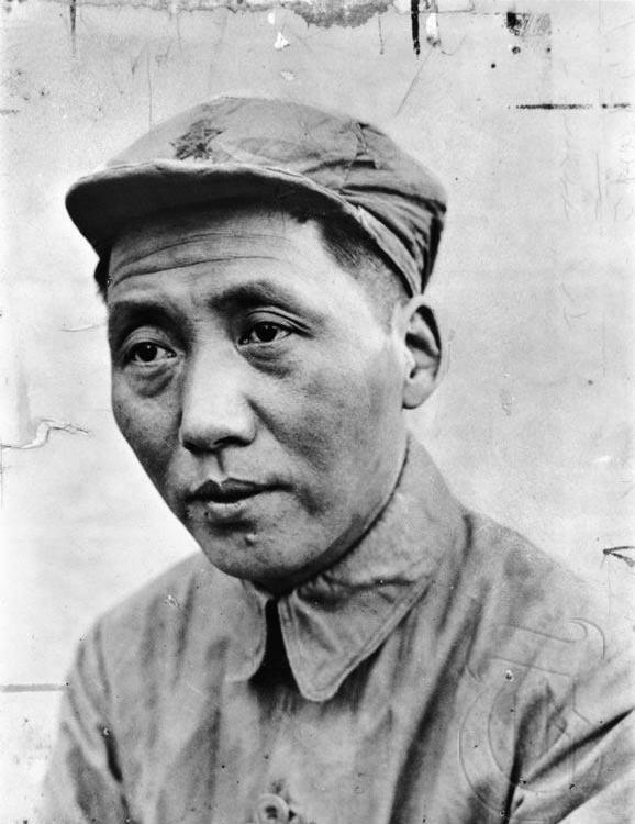 Mao Zedong kurz nach Ende des Langen Marsches • Public domain